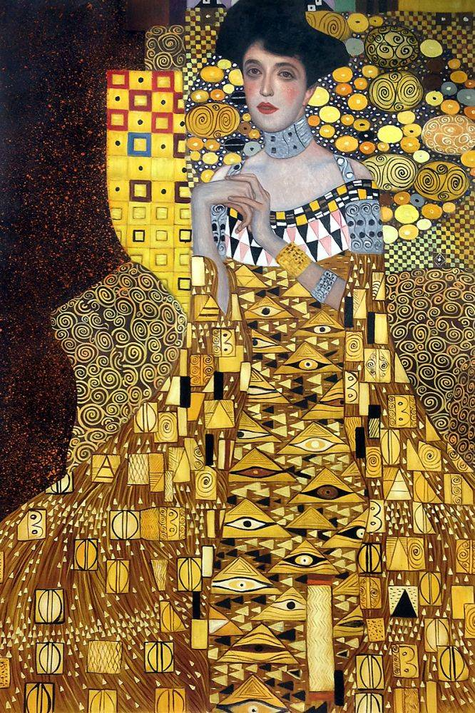 portrait of adele bloch bauer 1 1907 gustav klimt. Black Bedroom Furniture Sets. Home Design Ideas